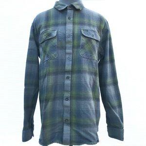 RVCA Flannel Button Down Shirt EUC